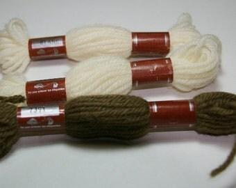 DMC Tapestry Wool Skeins, Needlepoint Wool, 100% Wool Skeins