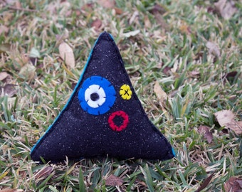 Triangle Plush Monster