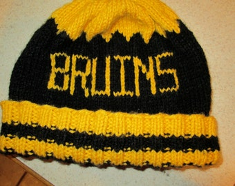 Knit Bruins Hat
