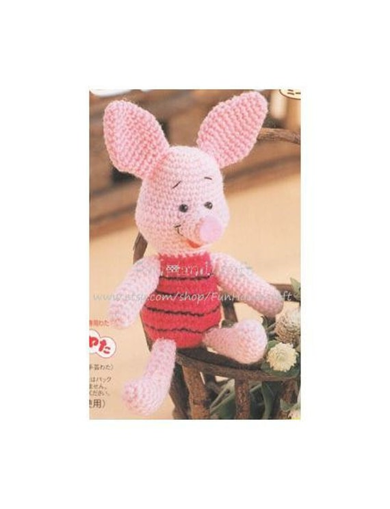 Amigurumi Piglet Patterns : Disney Piglet Amigurumi Pattern in EnglishE-book by ...