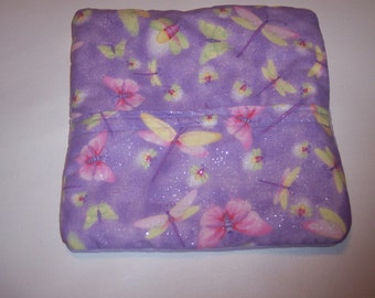 Dragonfly, Dragonflies,Whimsical,Light Purple, Lavender, Microwave Potato Bag, Potato Bag