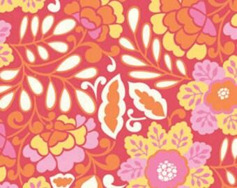 Fabric Taza 'Little Navina' Red by Dena Designs for Free Spirit HALF YARD