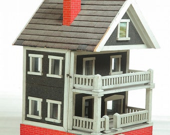 American, mid 20th century Dollhouse
