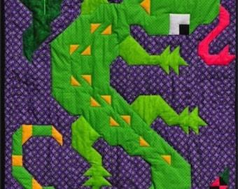 Gecko Quilt Pattern