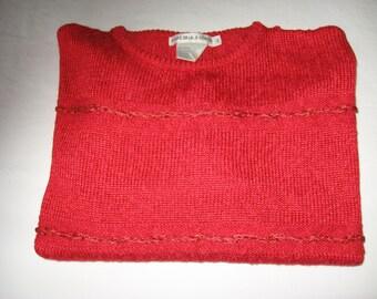 SALE  -   Vintage Malina Wong Sweater