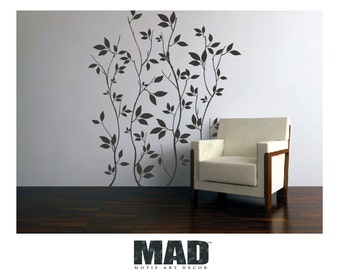 wall sticker wall decal LEAVES & BRANCHES SET