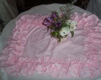 ruffled placemats-set of 4