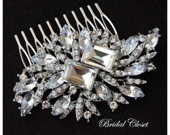 Bridal Hair Comb Rhinestone, Crystal Bridal Hair Comb, Crystal Hair Comb, Hair Comb, Hair Accessories, Bridal Headpieces, Bridal Comb