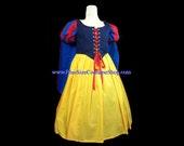 SNOW WHITE Princess Plus Size Halloween Costume Adult Womens Size 1X 2X 3X 4X 5X - 4 pcs New