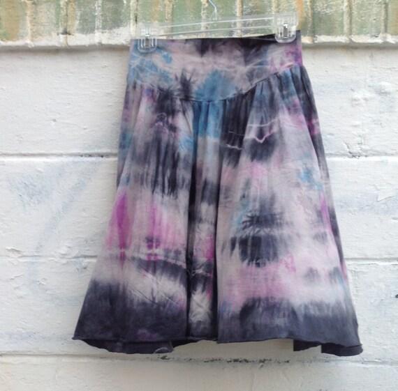 Cute & Flowy Tie Dye Skirt