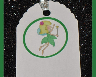 Fairy Gift Tags - Fairy party tags, Fairy gift bag tags- Fairy  Birthday Gift Tags- set of 10