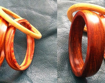 Exotic Wood Bracelets/Bangles