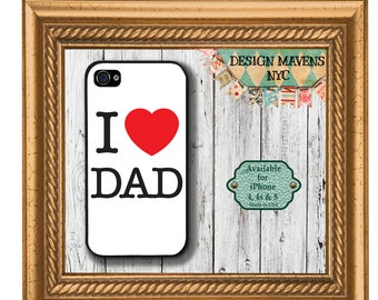 Dad Love iPhone Case, Fathers Day Phone Case, Dad Gift iPhone Case, iPhone 7, 7 Plus, iPhone 6, 6s, 6 Plus, SE, iPhone 5, 5s, 5c, 4, 4s