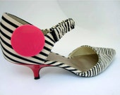 I Love Pink Trendy Shoe Clips - Shoe Decorations