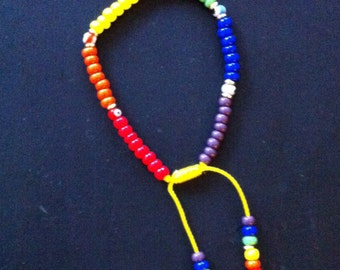 Multicolor wish bracelet