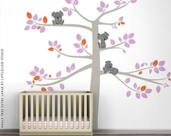 Koala Tree Extra Large Wall Decal by LittleLion Studio