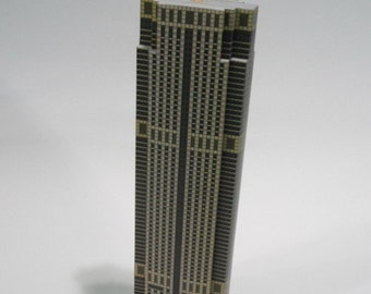 Paper Model of Jewelry Trade Center Bangkok  (Files for Download)