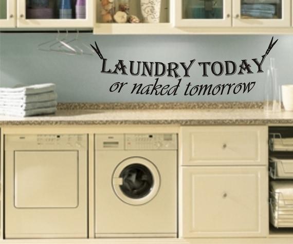 Items similar to Vinyl Laundry today or naked tomorrow