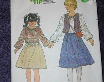 GIRLS  PATTERNS  Size 12