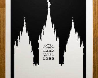 Salt Lake Temple Print