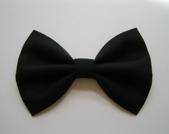 Hair bows for girls,black hair bow
