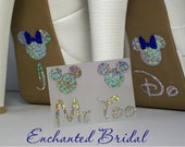 Disney Inspired I Do Shoe Stickers You Pick Color Sparkly Wedding Shoe Decals Disney Decals Disney Bride Mickey and Minnie Shoe Stickers
