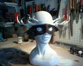 DEER MASK UNISEX - Costume Leather Mask
