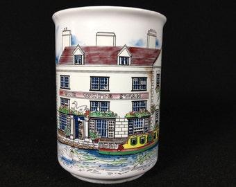 Vintage White Swan Inn Mug