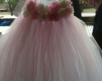 Custom Flower Girl Tutu dress