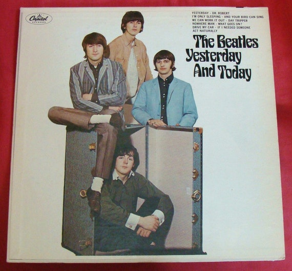 BEATLES 2nd State Mono BUTCHER COVER record Lp Near Mint Best