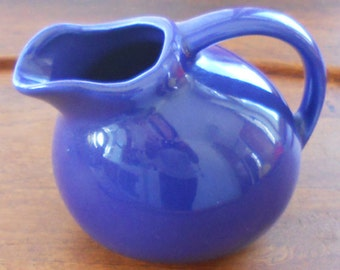 Vintage Cafe Creamer Pitcher
