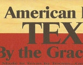 Items Similar To American By Birth Texan By The Grace Of