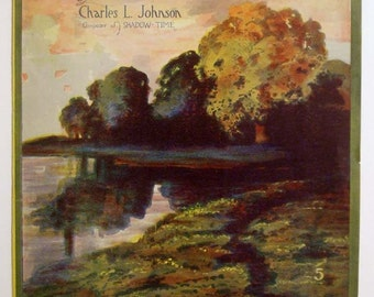 """Antique Sheet Music """"Croon Time"""" by Charles L. Johnson"""