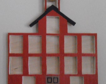 Schoolhouse Picture Frame
