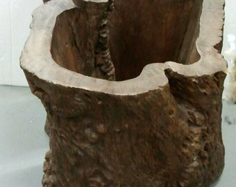 Chinese Tree Trunk Pot