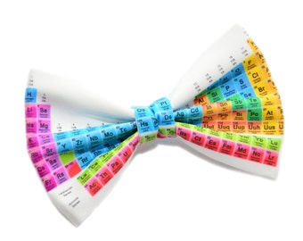 Periodic Table Hair Bow