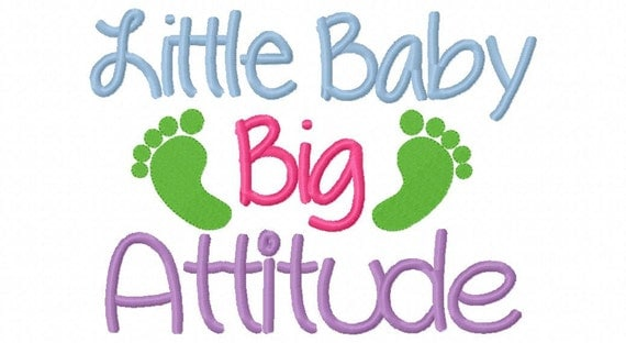 Items similar to embroidery design little baby big