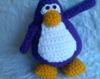 Club Penguin and Shirts Crochet Pattern