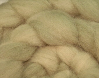 Faded Denim Greens - Very Fine Alpaca and Merino Roving