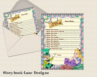 Alice In Wonderland Wishes For Baby