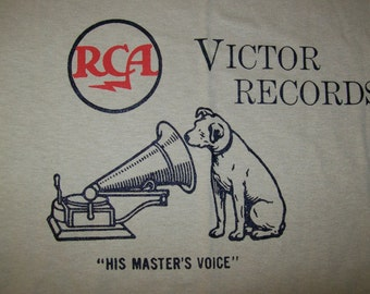 RCA Victor Records T - Shirt   Any Size / Any Color