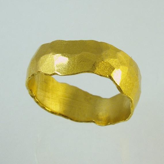pure goldmens wedding bandpure gold 24 karat solid gold. Black Bedroom Furniture Sets. Home Design Ideas