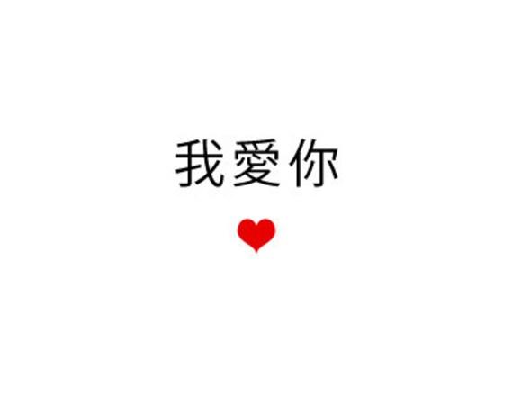 私はあなたを中国語でとても愛しています