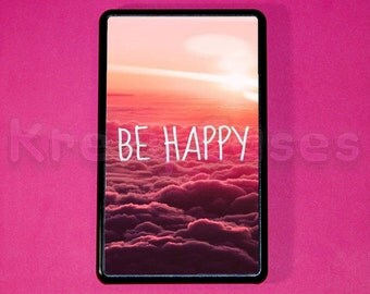 """Kindle Fire Case -be happy kindle fire case- Amazon Kindle fire HD Case, Amazon Kindle fire HD 7 """" Case"""