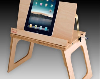 "21 Plus Uses ""2 DESKS LISTING"" College Dorm Gift Eat Read Write Type Desktop Tabletop Document Holder Lap Tray Stand"