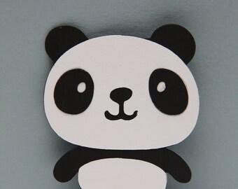 Panda Bear Die Cut-Set of 8
