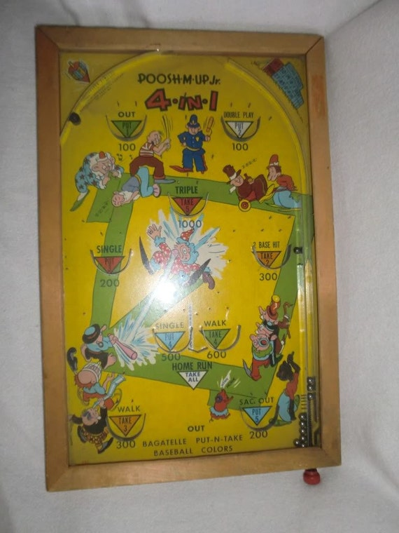 Poosh M Ups Rodeo Bagatelle Game Table 171 The Best 10