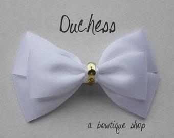 duchess hair bow