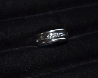 Handmade Sterling Silver Band