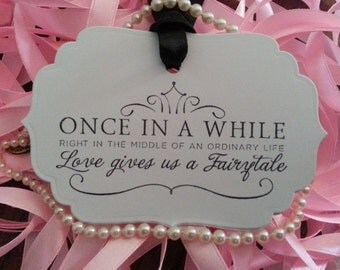 200  Wedding Wish Tree Tags Fairytale Weddings